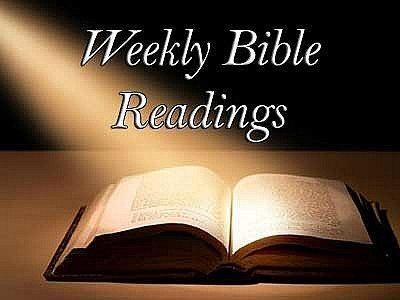 Weekly Bible Readings